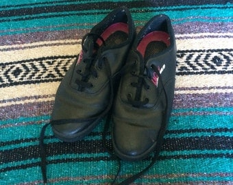 Vintage Black L.A. Gear Sneakers