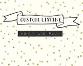 Custom Listing- Family Cross Stitch x 2
