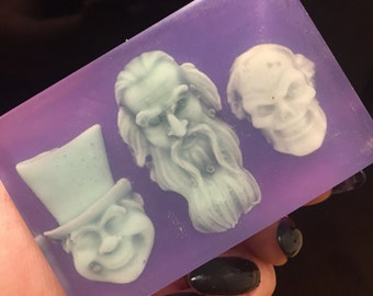 Haunted Mansion Hitchhiking Ghosts Glow Soap