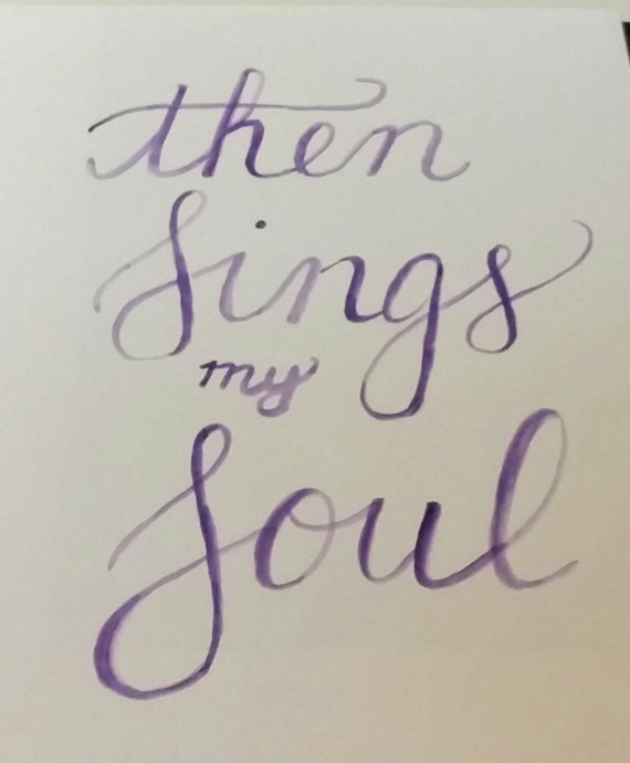 then sings my soul lyrics pdf