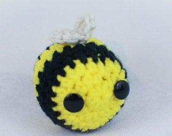 Crochet Bee Amigurumi Plush