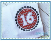 INSTANT DOWNLOAD 2600 Elephant Circle Border 16 design in digital format for embroidery machine by Applique Corner