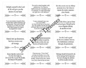 Set of 48 Verses on LOVE, Christian Scripture Cards, Printable Christian Gift, Bible Memory Cards - INSTANT Download