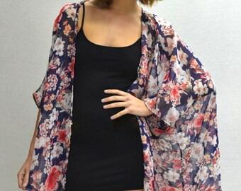 Jimbaran Kimono in Dahlia