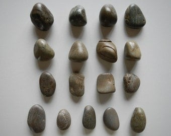 Montana River Rock drawer pulls stone cabinet knobs natural eco-friendly  handmade home decor listing #13