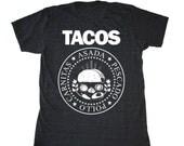 TACOS Men's Foodie T-shirt.