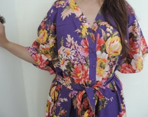 Maternity Hospital Gown, Nursing kaftan, Nursing Gown, For Moms to be, Delivery Gown, Feeding Gown
