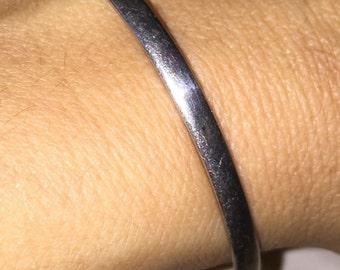 Vintage Tobiah Bangle Bracelet Silver Stacking Bangle