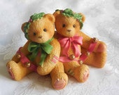 Cherished Teddies Bonnie and Harold