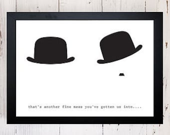 Another Fine Mess Print