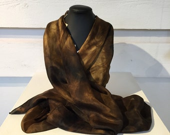 23. Eco printed scarf