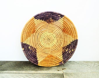 SALE - Vintage Basket - Handwoven - Modern Farmhouse Chic