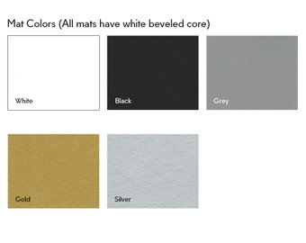 Color Coordinated Mats In 3 Sizes