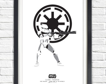 Star Wars - Solo Series - Clone Trooper- 19x13 Poster