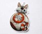 BB-Cat Sticker