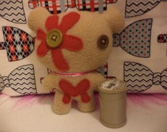 Mini Zombie Bear Plush