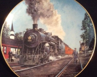Train Plate-The Panama Limited