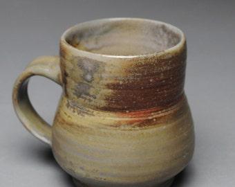 Clay Coffee Mug Beer Stein Wood Fired D39