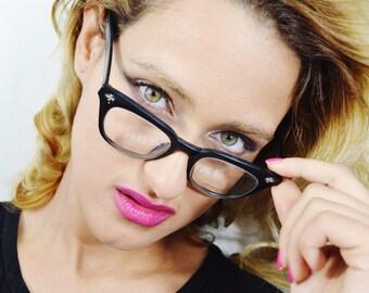 Fantastic Vintage Horn Rimmed eyeglasses - See our huge collection of vintage eyewear