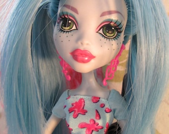 OOAK Customised Monster High doll - Lagoona