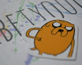JAKE | Adventure Time | Sticker | Cartoon