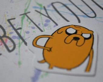 JAKE   Adventure Time   Sticker   Cartoon