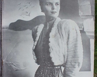 October 9, 1944 LIFE Magazine with Selene Mahri on the Cover has 128 pages of ads and articles