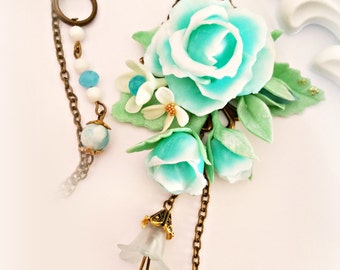 rose bouquet pendant tiffany