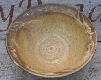 Handmade Pottery Bowl, Ceramic Bowl Serving Bowl