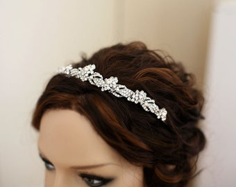 Crystal Tiara, Wedding Hair Accessory, Headpiece, Bridal hair, Veil, Kate, Bridal jewelry, Wedding