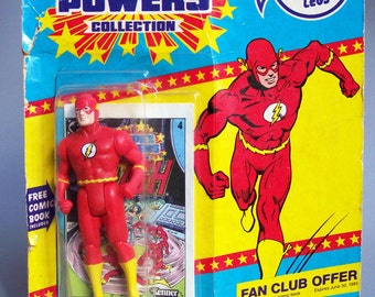 Vintage Super Powers The Flash MOC - Mint On Card New in Packaging