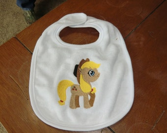 Embroidered Baby Bib - My Little Pony - Applejack