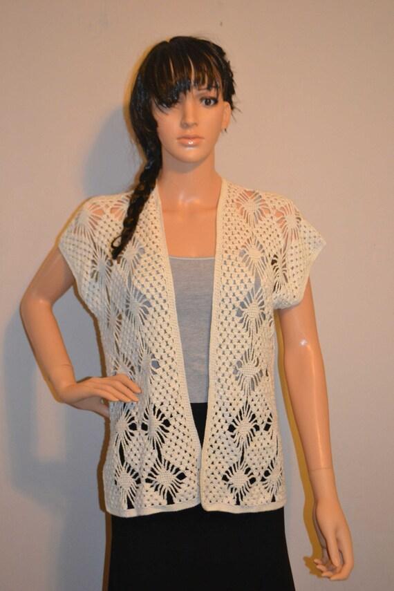Beautiful Design Custom Made Size Crochet Cardigan Size 0 to 20