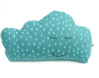 Cuddly cloud pillow -  Blue