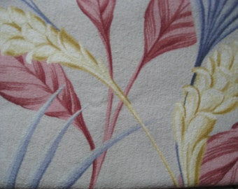 Vintage Barkcloth Bark Cloth Era Fabric Drape 1930's NOT REPRODUCTION