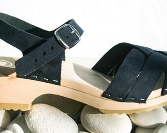 Cloudberry's Josefin Swedish Clog Sandals