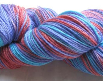 Hand Painted Sock Yarn 430 yards
