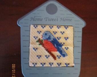 Home Tweet Home Bluebird Refrigerator Magnet