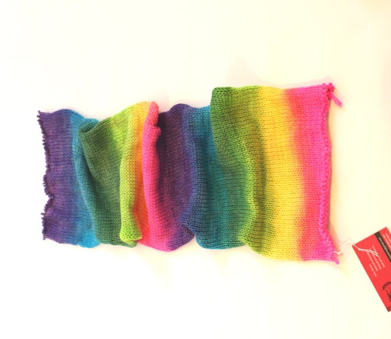Double Knit Sock Pattern : Double-Knit Sock Blank Rainbow Yarn Rainbow Hand