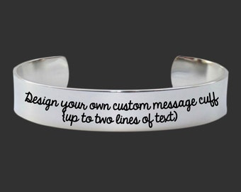 Custom Bracelet | Personalized Gift | Bridesmaid Gifts | Design Your Own Jewelry | Custom Jewelry | Personalized Gifts | Korena Loves