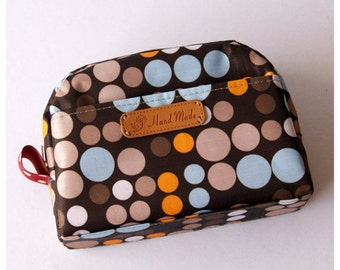 SALE 35% OFF - Cosmetic Bag, Small Pouch, Makeup Case, Mini Clutch Purse