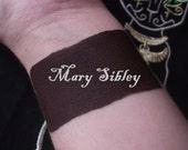 Mary Sibley - Cream Liquid Matte Dark Brown Black Lipstick - Salem Inspired Lipstick Gothic Lips Goth