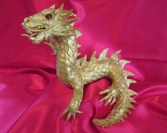 chinese dragon cake topper