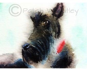 Scottie Dog  Art Print #83