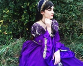Handmade Tudor Anne Bolyne princess stage party gown medieval queen choice of styles