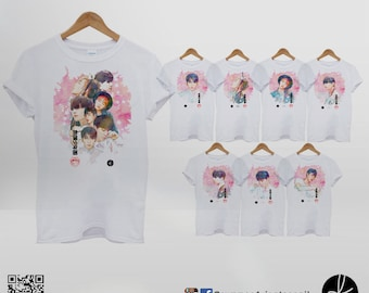 BTS Bangtan Boys In the Mood For Love Tshirt