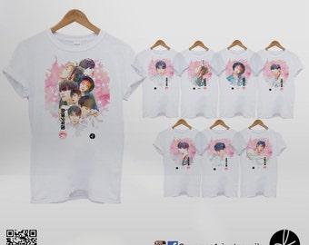 BTS Bangtan Boys In the Mood For Love Tshirt