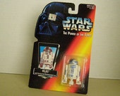 Star Wars Power of the Force 2  R-2 D2 3 3/4 Inch Figure New In Package
