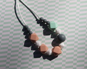 Beaded Teething Necklace