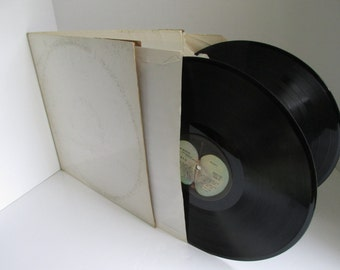 The BEATLES Album Beatles White Album  1960s Music Gate Fold Album original beatles John Lennon Paul McCartney George Harrison Ringo Starr